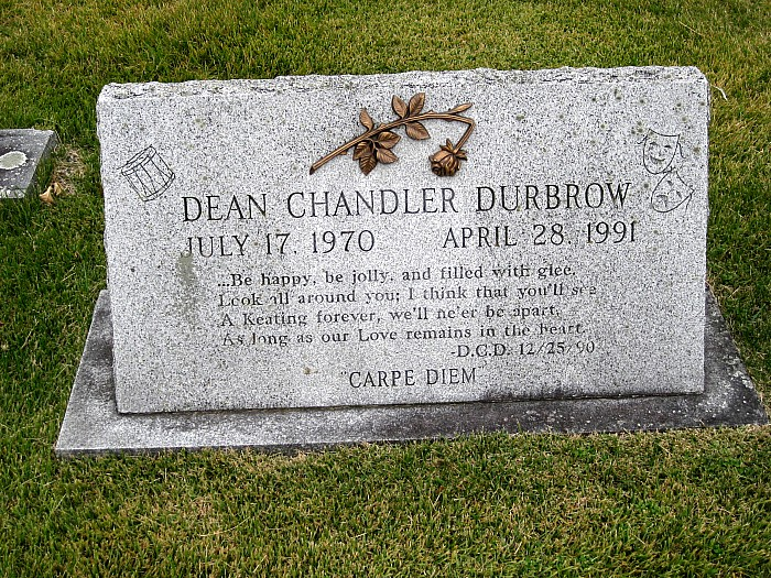 Dean Chandler Durbrow - headstone