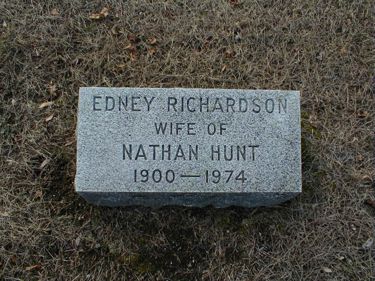 Edney (Richardson) Hunt