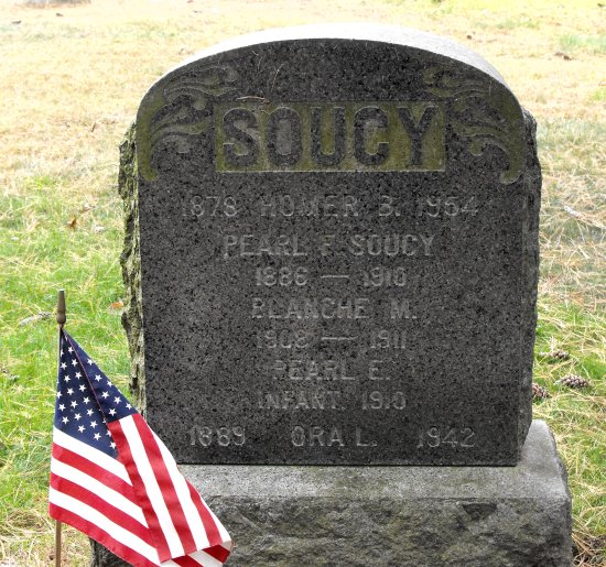 Soucy - gravestone